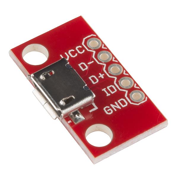 Micro USB Pin Breakout Board