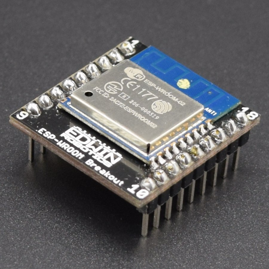 ESP8266: ESP-WROOM-02 Adapter board