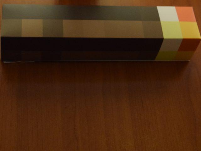 Assembling the Minecraft Torch