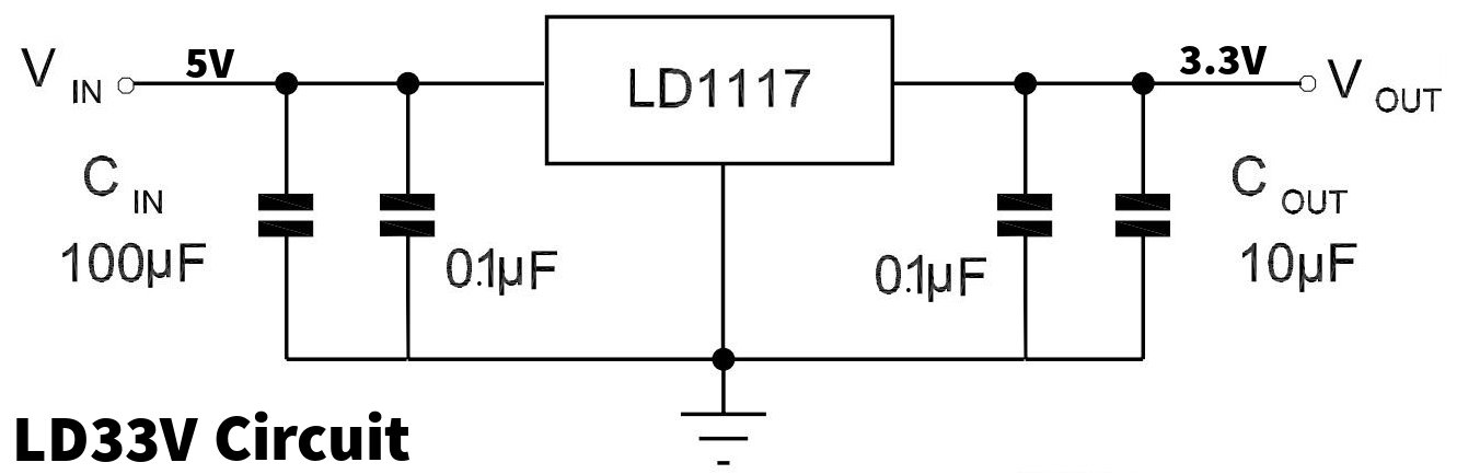 3.3v Voltage Regulator Circuit