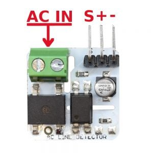 230v/110v AC Mains Detection Module Hookup Guide | Learn with Edwin