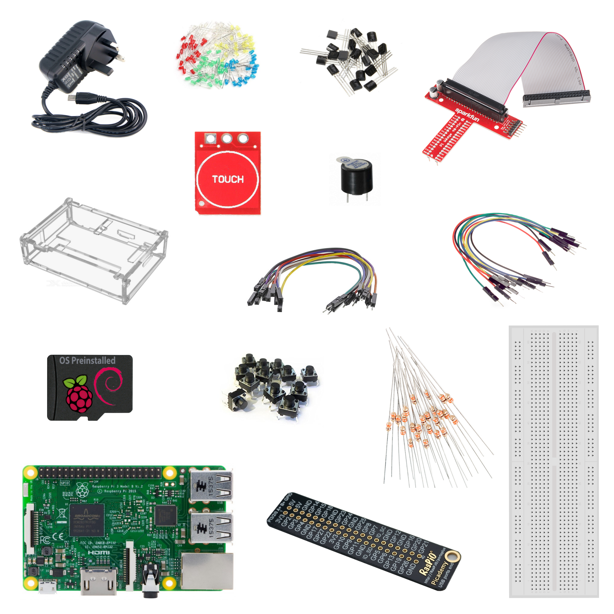 Getting Started With Raspberry Pi And Electronics Learn Edwin Circuit Connected We Can Go Ahead Add Some Code For Our Starter Kit Tutorial Blog