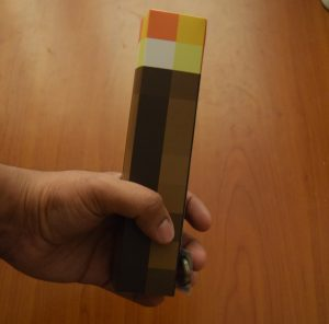 Minecraft Torch with sensors