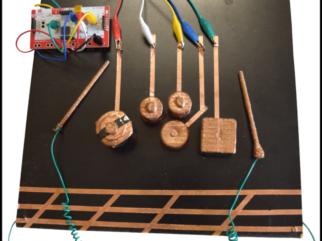 Makey Makey Drum Set